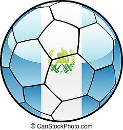 guatemala, futebol, bandeira, bola
