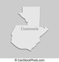 guatemala, mapa