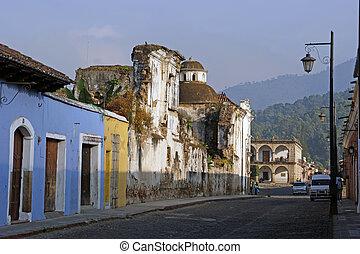 guatemala, strada, antigua