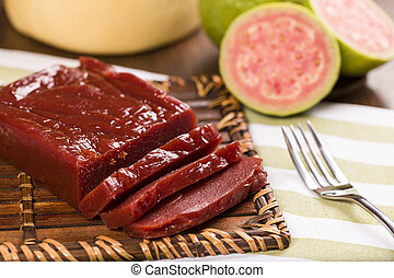 Guava Sweet, Goiabada - Goiabada, a candy made ??of guava,...