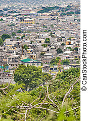 Guayaquil Outskirt Aerial View, Ecuador - Aerial view of...