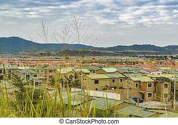 Guayaquil Outskirts Condominium Neighborhood