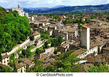 gubbio, イタリア, umbria
