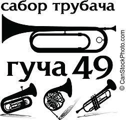 guca 49 vector illustration