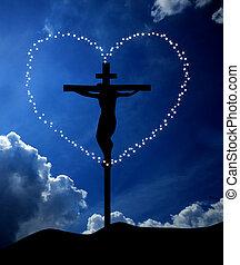 gud, är, kärlek