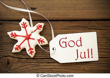 gud, jul, svensk, jul, hilsenerne