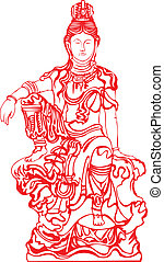 gudinde, buddha