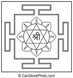 gudinde, lakshmi., yantra