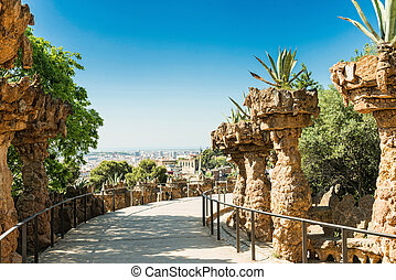 guell, 公園