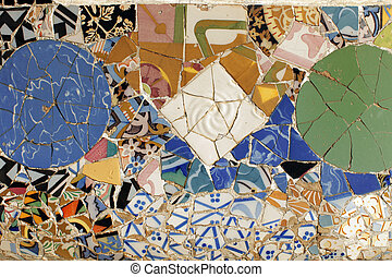 Guell, azulejos