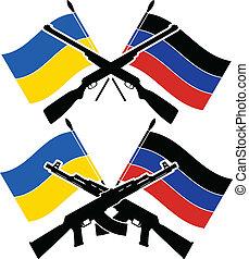 guerra civile, ucraino