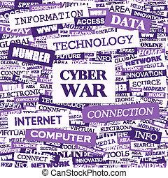guerra, cyber