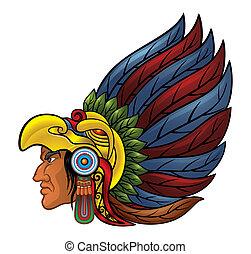 guerreira, aztec