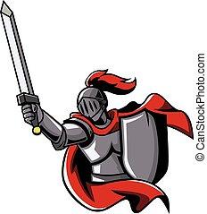 guerreira, cavaleiros