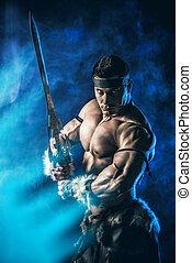 guerrero, luchador