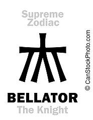 guerrero, supremo, knight), (the, zodiac:, /, astrology:, ...