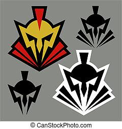 guerreros, diseño, mascota