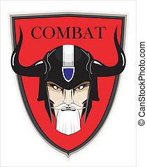 guerrier, commandant