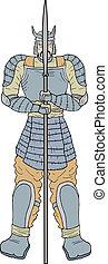 guerrier, samouraï