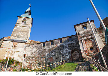 Medieval Gussing castle in Austria, owned by the Batthy?ny family