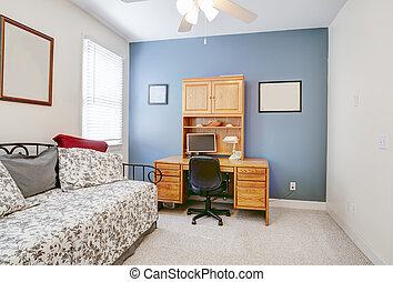 Guest bedroom or home office
