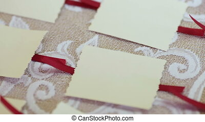 Guest list - Festively decorated guest list for wedding