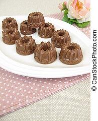gugelhupf, chocolate