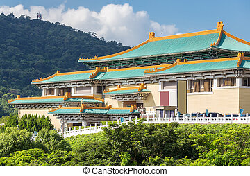 gugong, nazionale, museo,  taïpei