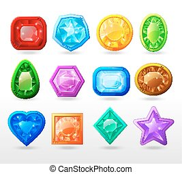 Gui Cartoon Buttons Set