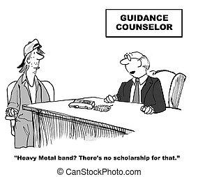 Guidance Counselor - Education cartoon about a guidance ...