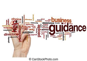 Guidance word cloud