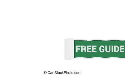 guide, gratuite, signe