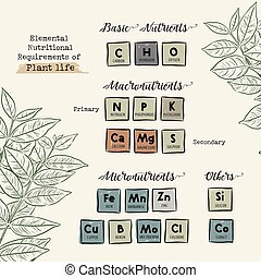 Guide of Macronutrients and Micronutrients for Plants...