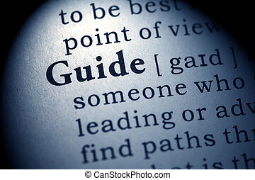 guide - Fake Dictionary, Dictionary definition of the word...
