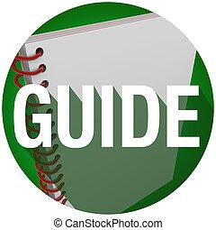 Guide Spiral Book Word Long Shadow Instructions Manual Circle