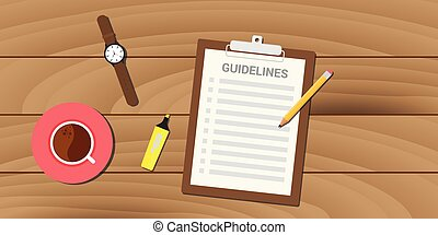 guidelines policy guidance business management