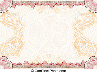 Guilloche pattern - Classic guilloche pattern suitable for...