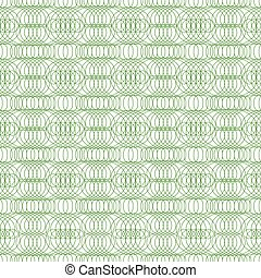 Guilloche seamless. Dollar banknotes money background watermark security engraving shapes vector pattern for certificate