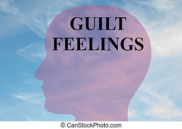 Guilt Feelings - mental concept