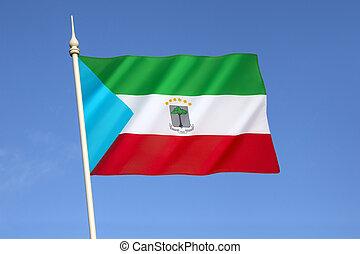 guiné bandeira, equatorial