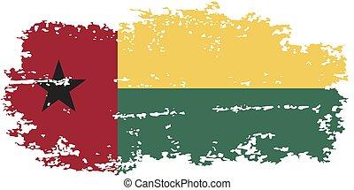Guinea-Bissau grunge flag. Vector illustration. Grunge ...