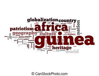 Guinea word cloud