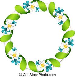 guirlande florale