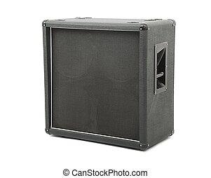 Guitar amplifier cabinet