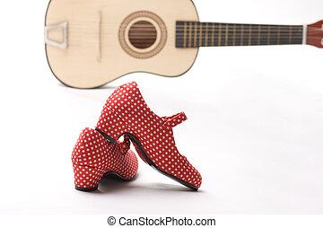 guitar and heels