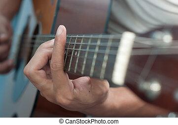 guitar chord player