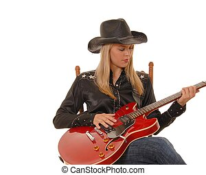 Guitar Cowgirl