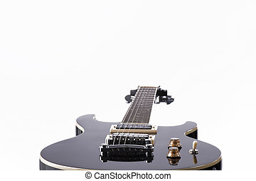 Guitar Electric Close Isolated White