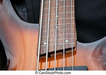 guitar., elektromos bőgő
