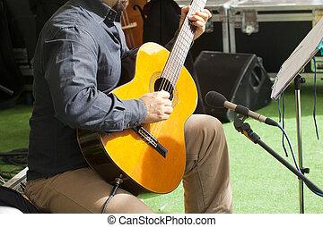 Guitar hero - Photo of a Guitar hero in action